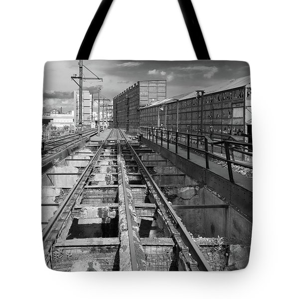 Steelyard Tracks 1 Tote Bag