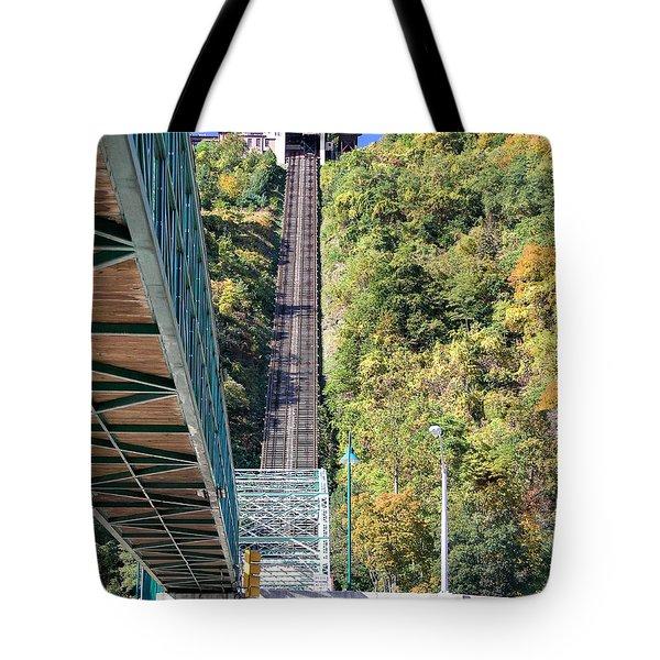Steep Johnstown Incline Tote Bag