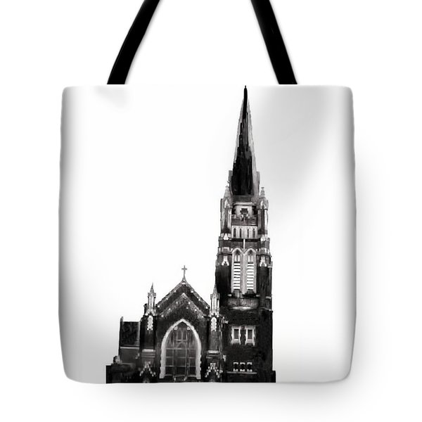 Steeple Chase 1 Tote Bag by Sadie Reneau