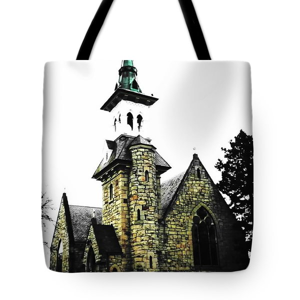 Steeple Chase 2 Tote Bag by Sadie Reneau