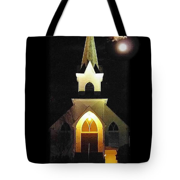 Steeple Chase 3 Tote Bag by Sadie Reneau