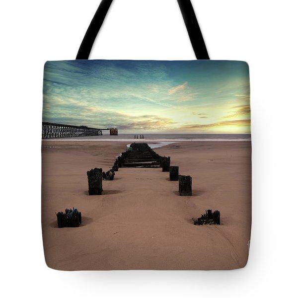 Steetly Pier Tote Bag
