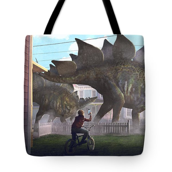 Stegosaurus Tote Bag