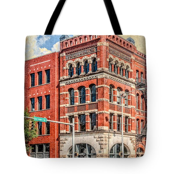 Steiner Building Tote Bag by Phillip Burrow