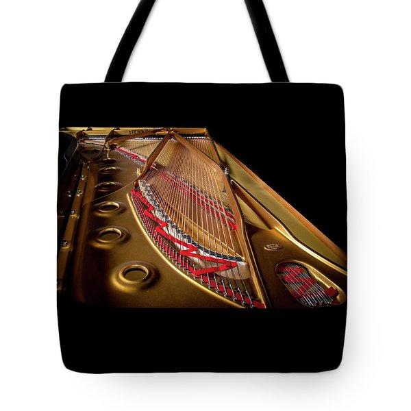 Steinway Guts Tote Bag