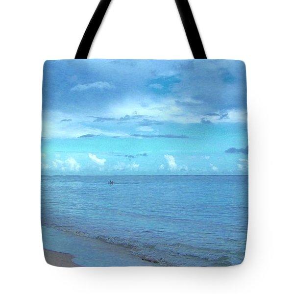 Stella Blue Tote Bag