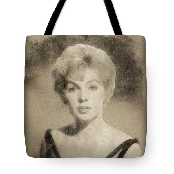 Stella Stevens, Vintage Actress By John Springfield Tote Bag