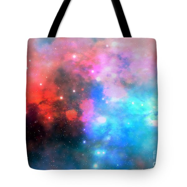 Stellar Relic Tote Bag by Corey Ford