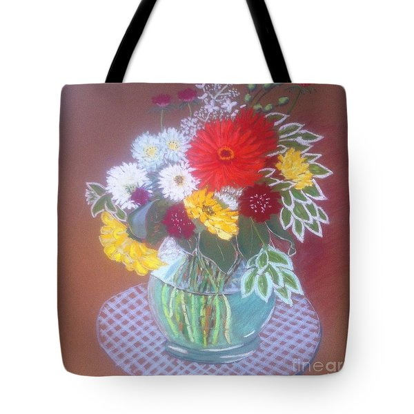 Stella's Flowers Tote Bag