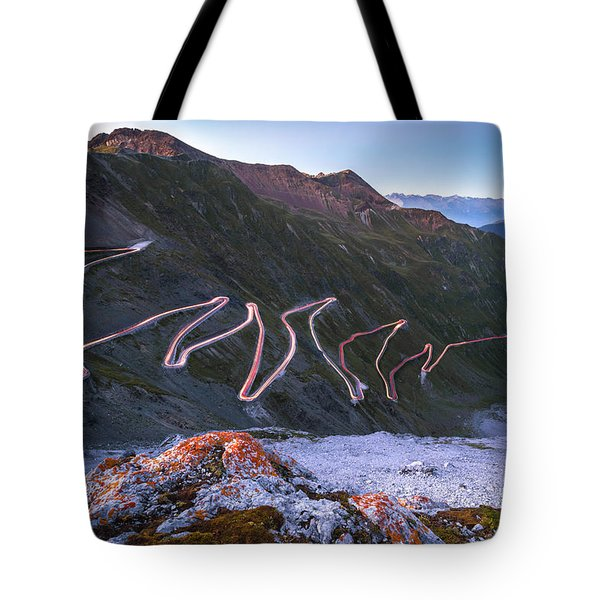 Stelvio Pass Tote Bag