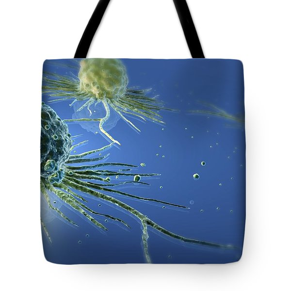 Stem Cells Tote Bag by Three D Four Medical and Photo Researchers