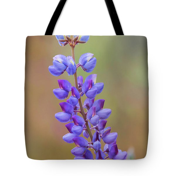 Tote Bag featuring the photograph Stem Of Lupines by Ram Vasudev