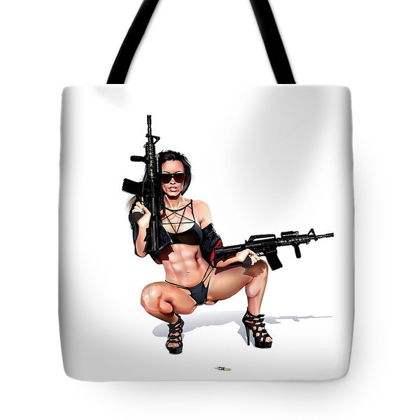 Step Aside Tote Bag