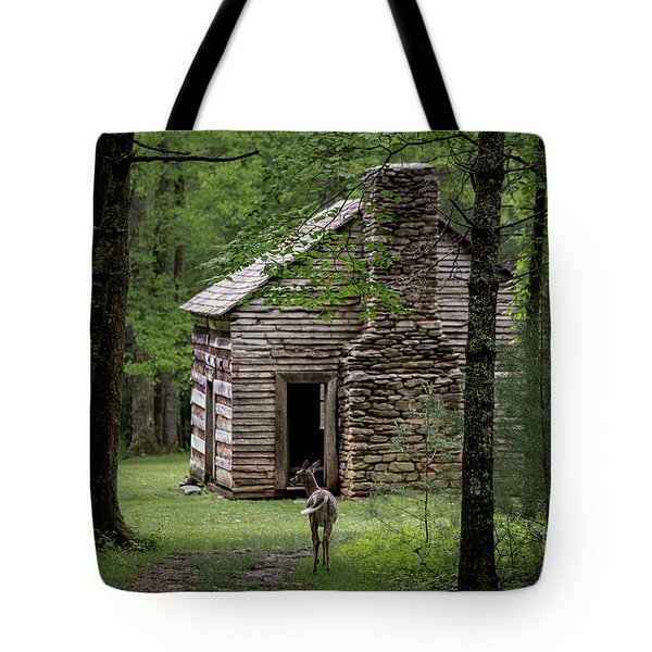 Tote Bag featuring the photograph Step Back In Time by Andrea Silies