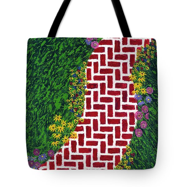 Step Into My Garden Tote Bag