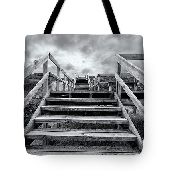 Tote Bag featuring the photograph Step On Up by Linda Lees