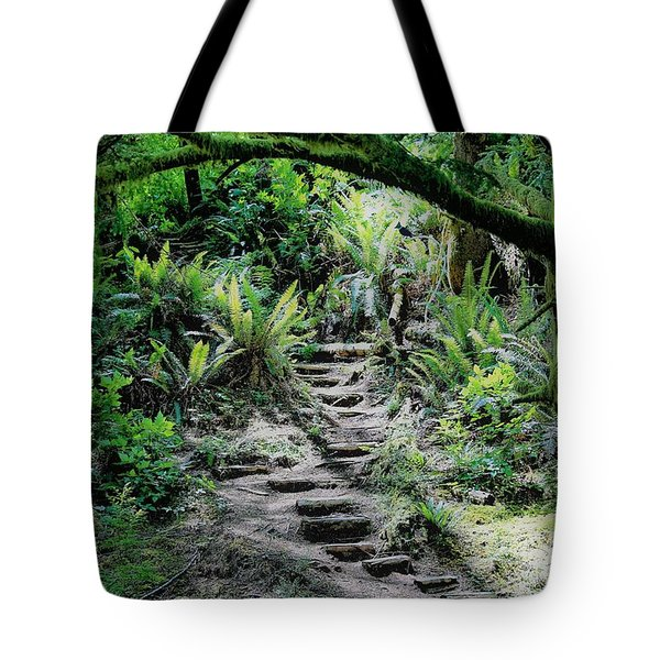 Step On Up Tote Bag