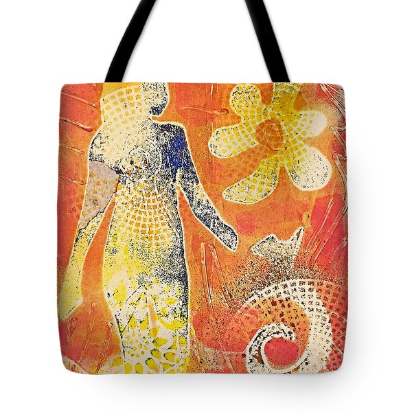 Step With Confidence  Tote Bag