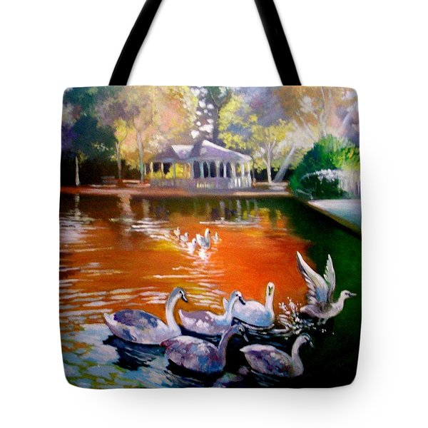 Stephens Green Dublin Ireland Tote Bag