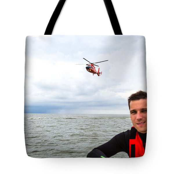 Tote Bag featuring the photograph Stephen Nicoll by Gregory Daley  PPSA