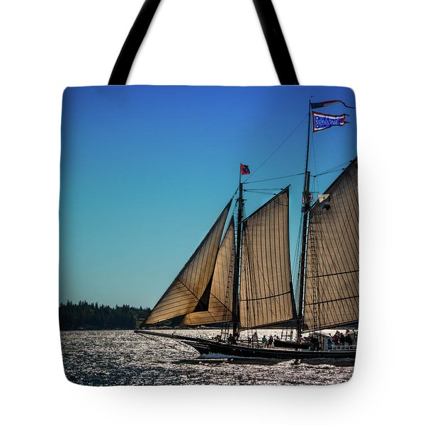 Stephen Taber Tote Bag by Fred LeBlanc