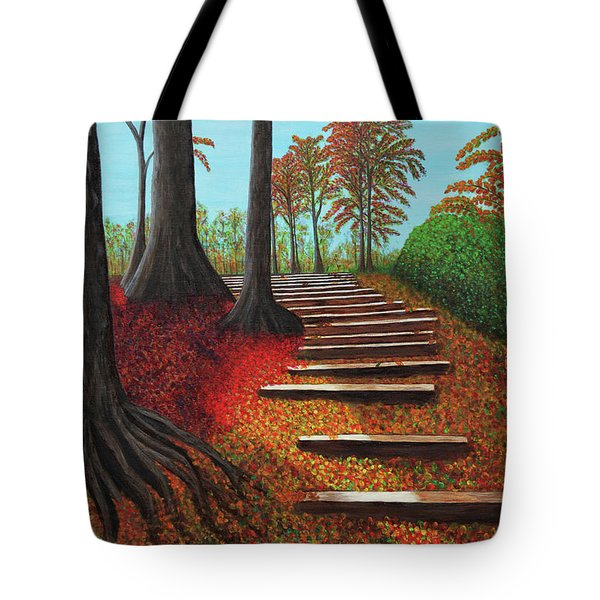 Almost There Tote Bag by Donna Manaraze