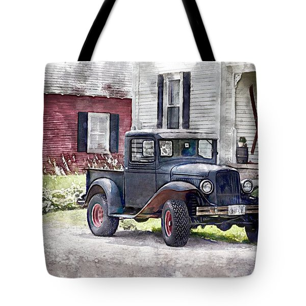 Stepping Back Tote Bag