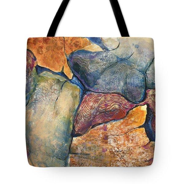 Stepping Stones No.7 Tote Bag