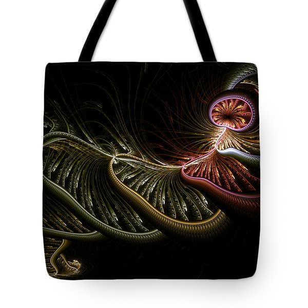 Stepping Through Time Tote Bag