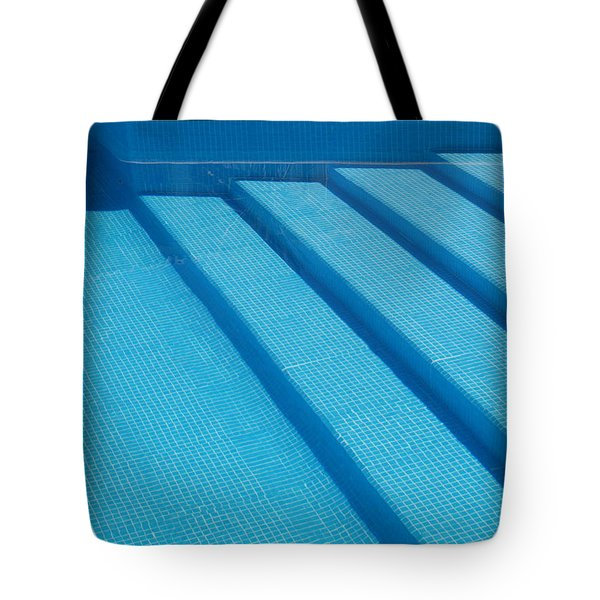 Steps In The Pool Tote Bag