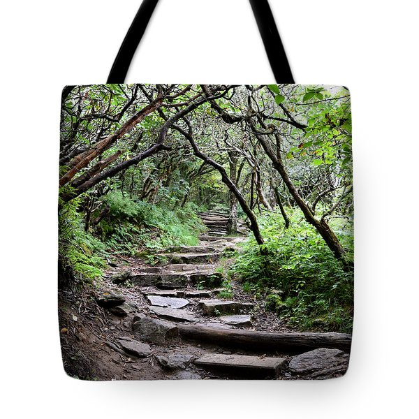 Steps Into The Enchanted Forest Tote Bag