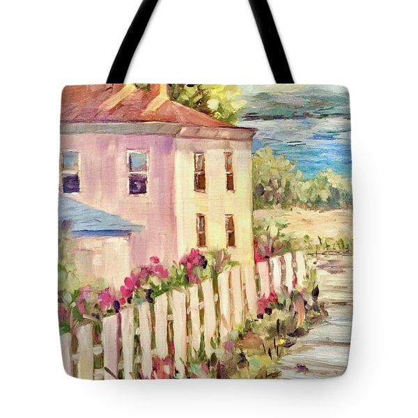 Steps To The Hudson Tote Bag