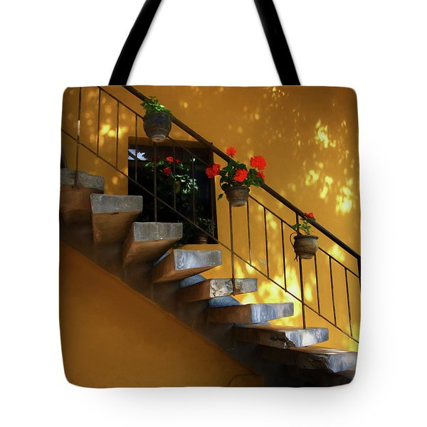 Steps To Tranquility  Tote Bag