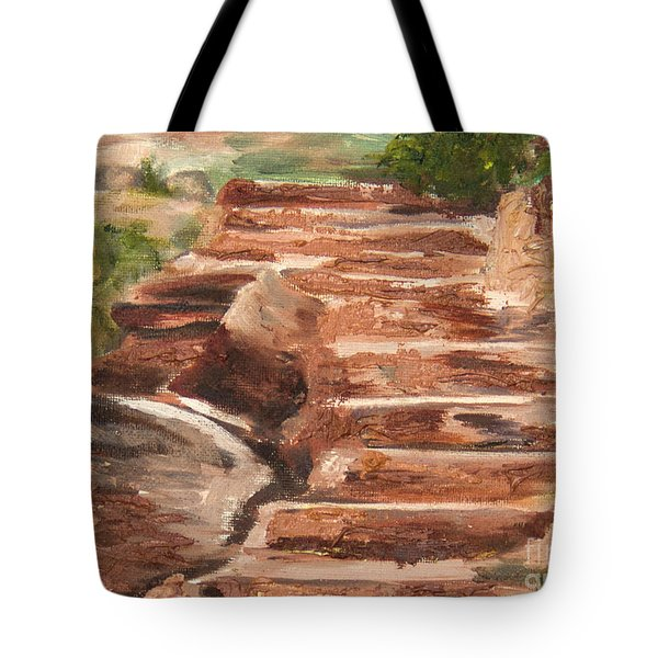 Steps To Zion Tote Bag