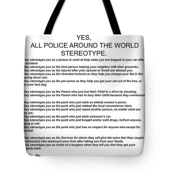 Stereotype Tote Bag