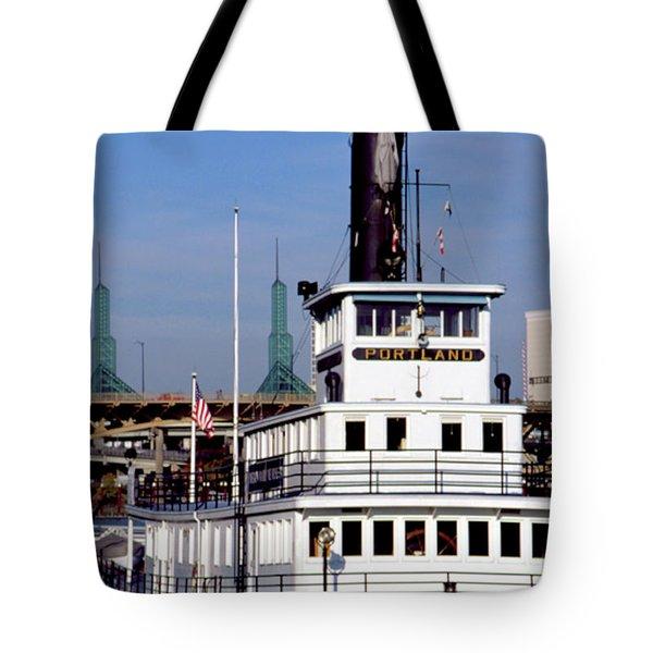 Sternwheeler, Portland Or  Tote Bag