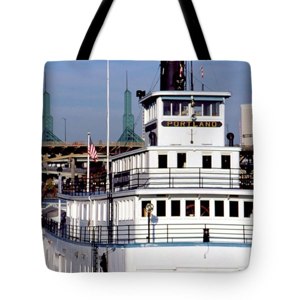Sternwheeler, Portland Or  Tote Bag