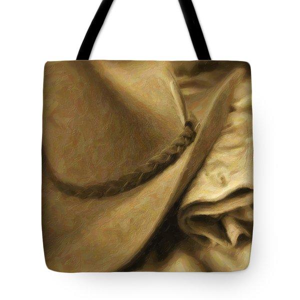Stetson Tote Bag by Tom Mc Nemar