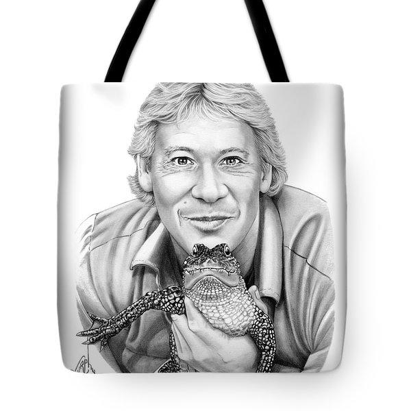 Steve Irwin Tote Bag