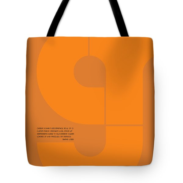 Steve Jobs Quote Poster Tote Bag