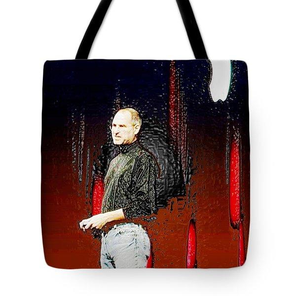 Steve Jobz 5 Tote Bag by Piety Dsilva