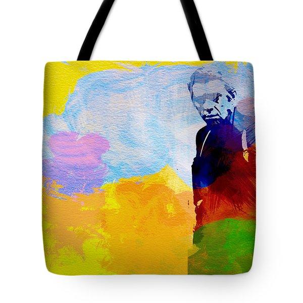 Steve Mcqueen Tote Bag by Naxart Studio