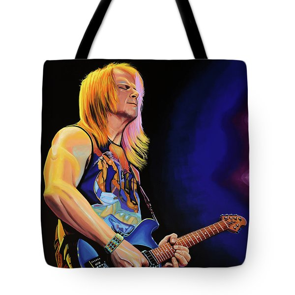 Steve Morse Painting Tote Bag