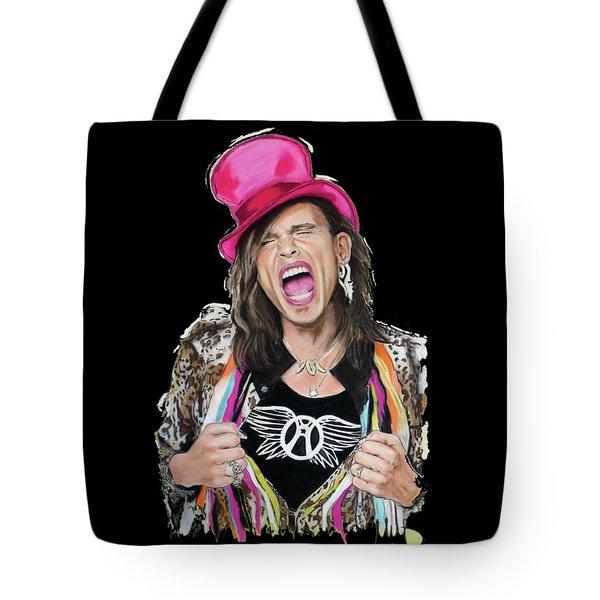 Steven Tyler 2 Tote Bag by Melanie D
