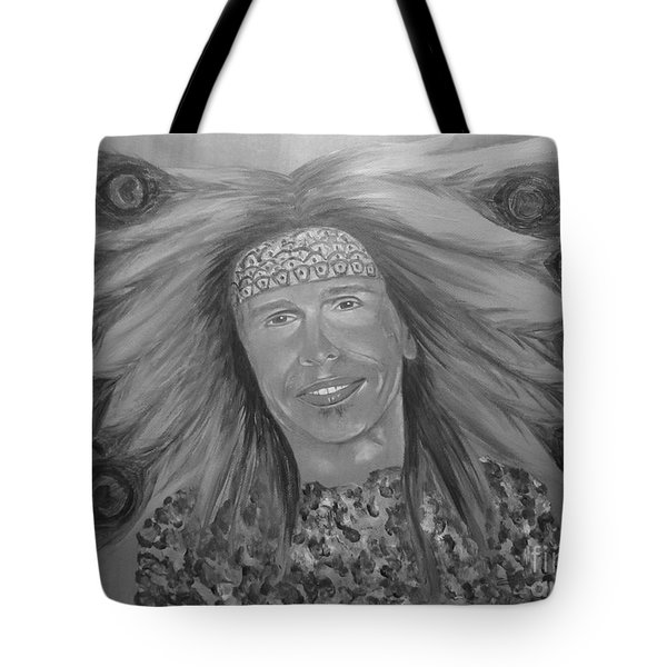 Steven Tyler Art Tote Bag
