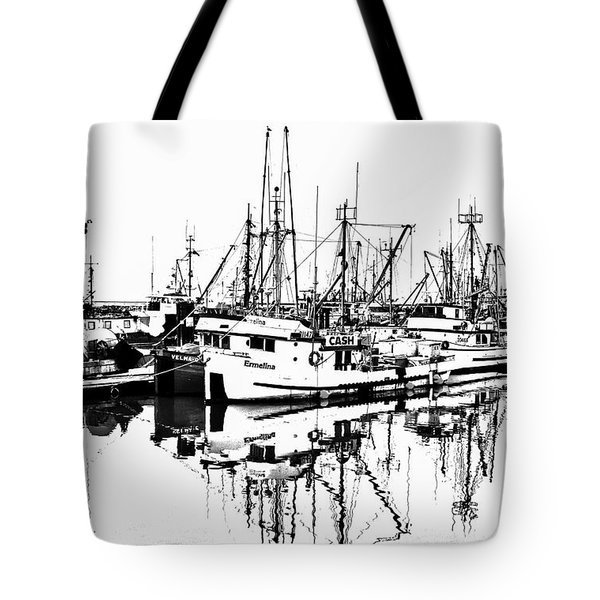 Steveston Harbor Tote Bag