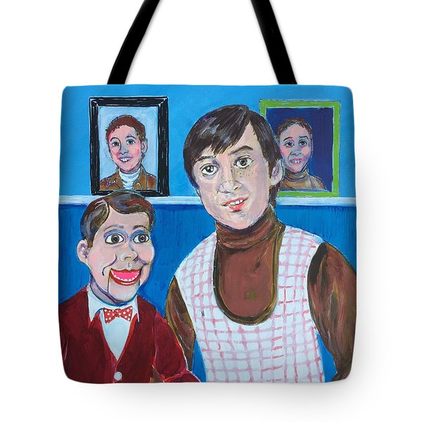 Stevie And Jerry Tote Bag