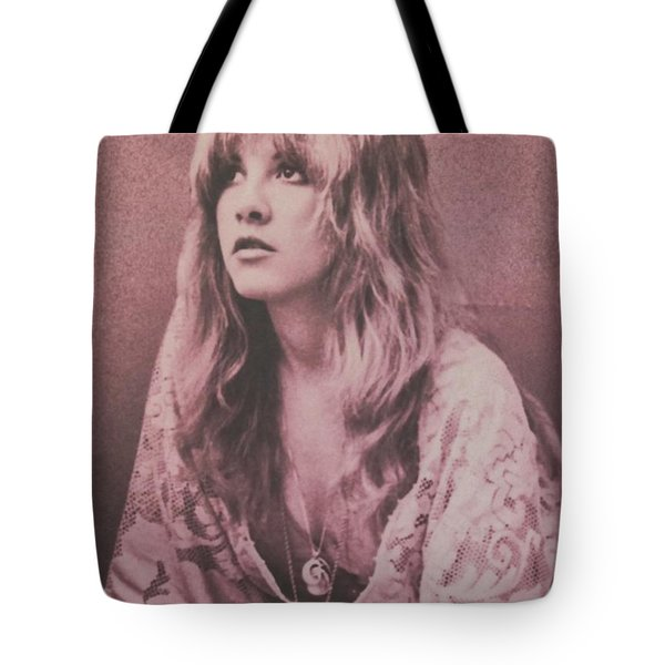 Stevie Nicks  Tote Bag by Donna Wilson
