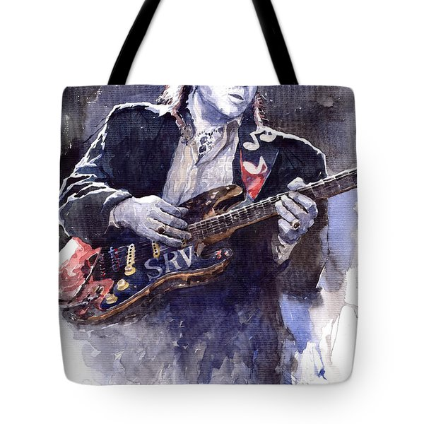 Stevie Ray Vaughan 1 Tote Bag by Yuriy  Shevchuk