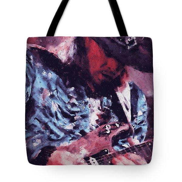 Stevie Ray Vaughan - 25 Tote Bag